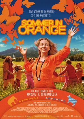 Sommer in Orange - German Movie Poster (thumbnail)