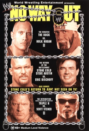 WWE No Way Out - Australian DVD movie cover (thumbnail)