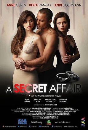 A Secret Affair - Philippine Movie Poster (thumbnail)