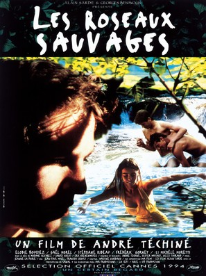 Les roseaux sauvages - French Movie Poster (thumbnail)