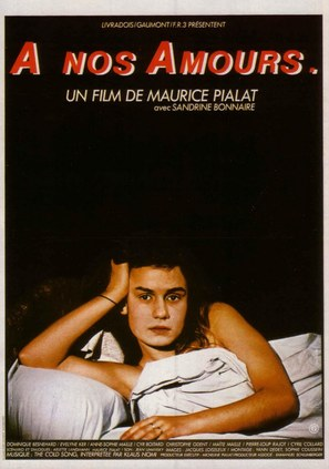 À nos amours - French Movie Poster (thumbnail)