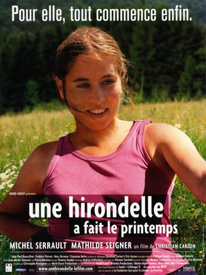Une hirondelle a fait le printemps - French Movie Poster (thumbnail)