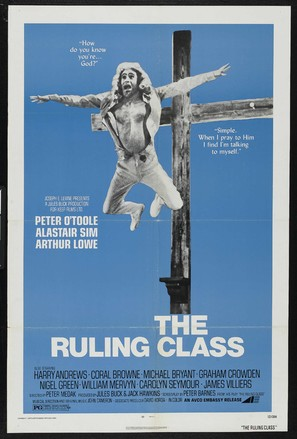 The Ruling Class - Movie Poster (thumbnail)