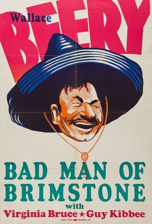 The Bad Man of Brimstone - Movie Poster (thumbnail)