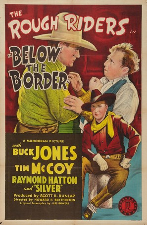 Below the Border - Movie Poster (thumbnail)