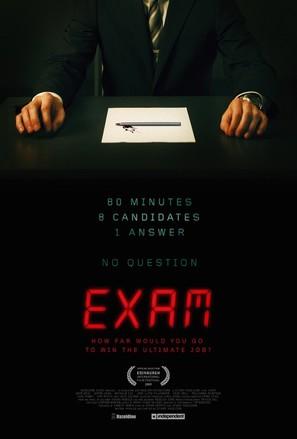 Exam - Movie Poster (thumbnail)