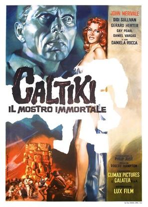 Caltiki - il mostro immortale - Italian Movie Poster (thumbnail)