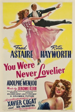 You Were Never Lovelier - Movie Poster (thumbnail)