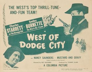 West of Dodge City - Movie Poster (thumbnail)
