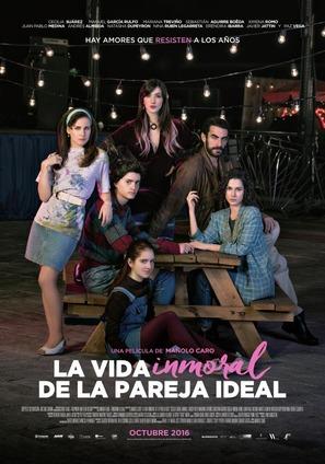 La vida inmoral de la pareja ideal - Mexican Movie Poster (thumbnail)