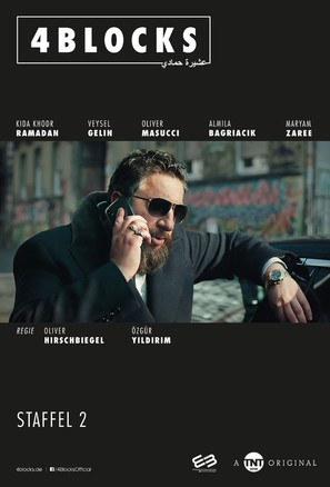 """4 Blocks"" - German Movie Poster (thumbnail)"
