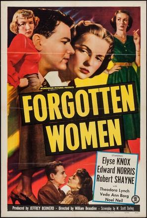 Forgotten Women - Movie Poster (thumbnail)