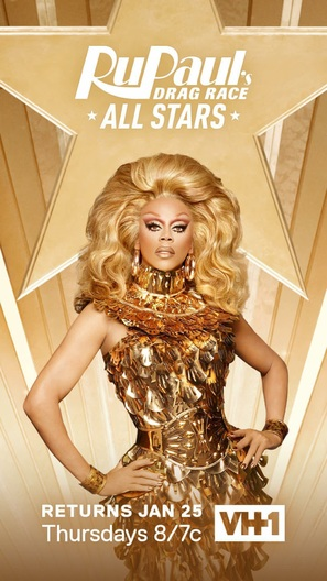 """RuPaul's All Stars Drag Race"" - Movie Poster (thumbnail)"