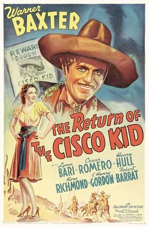Return of the Cisco Kid - Movie Poster (thumbnail)