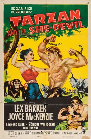 Tarzan and the She-Devil - Movie Poster (thumbnail)