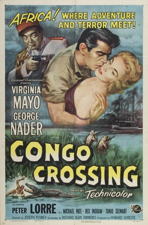 Congo Crossing - Movie Poster (thumbnail)