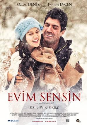 Evim Sensin - Turkish Movie Poster (thumbnail)