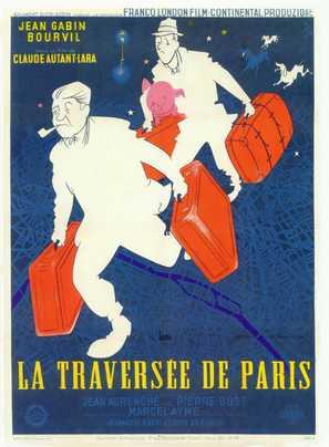 La traversée de Paris - French Movie Poster (thumbnail)
