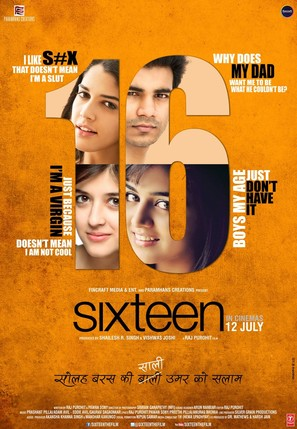 Sixteen - Indian Movie Poster (thumbnail)