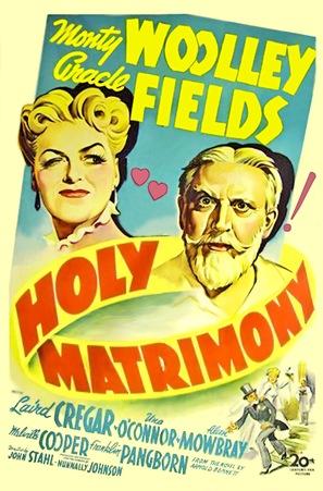 Holy Matrimony - Movie Poster (thumbnail)