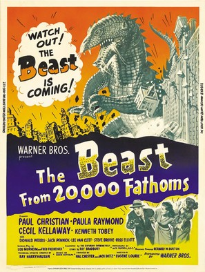 The Beast from 20,000 Fathoms - Movie Poster (thumbnail)