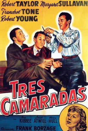 Three Comrades - Spanish Movie Poster (thumbnail)