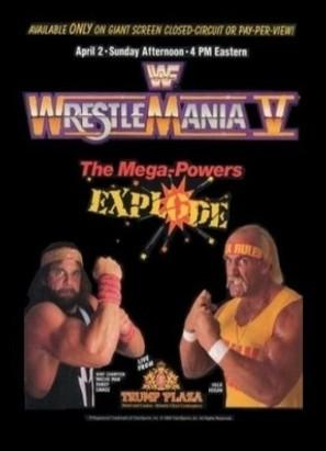WrestleMania V - Movie Poster (thumbnail)