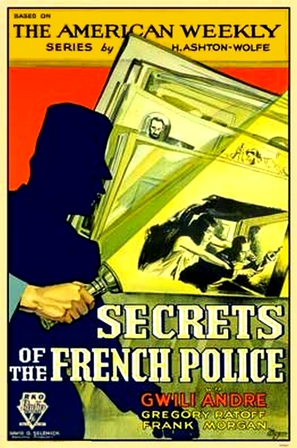 Secrets of the French Police - Movie Poster (thumbnail)