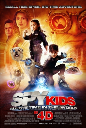 Spy Kids: All the Time in the World in 4D - Movie Poster (thumbnail)