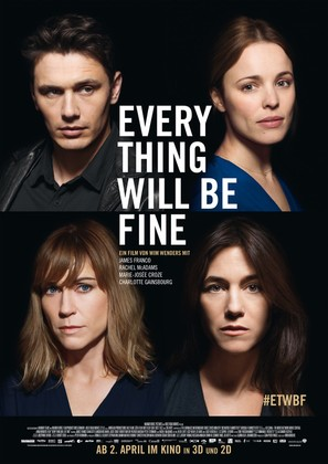 Every Thing Will Be Fine - German Movie Poster (thumbnail)