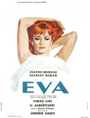 Eva - French Movie Poster (thumbnail)