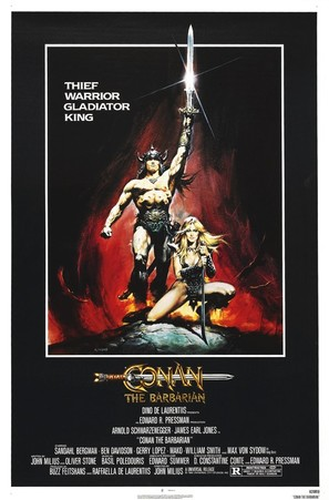 Conan The Barbarian - Movie Poster (thumbnail)