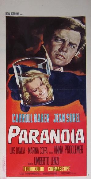 Paranoia - Italian Movie Poster (thumbnail)