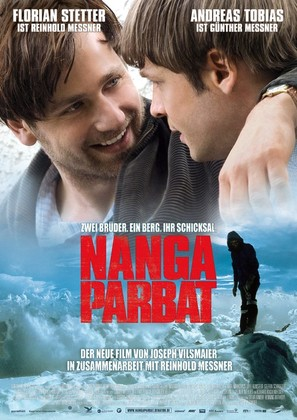 Nanga Parbat - German Movie Poster (thumbnail)
