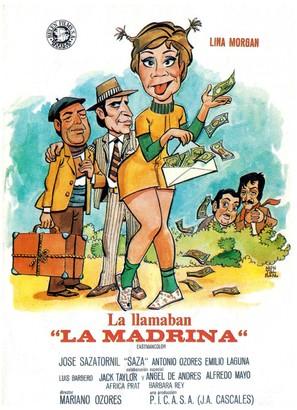 La llamaban La Madrina - Spanish Movie Poster (thumbnail)