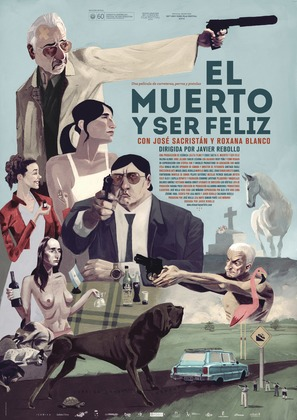 El muerto y ser feliz - Spanish Movie Poster (thumbnail)