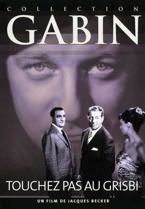 Touchez pas au grisbi - French Movie Cover (thumbnail)