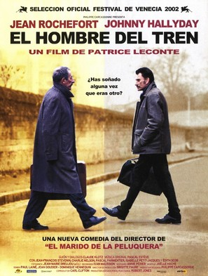 L'homme du train - Spanish Movie Poster (thumbnail)