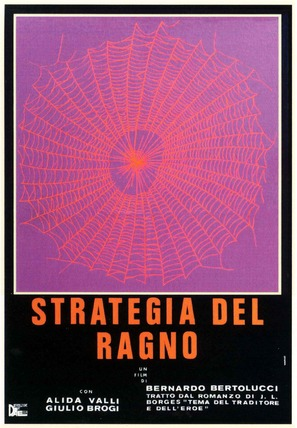 Strategia del ragno - Italian Movie Poster (thumbnail)