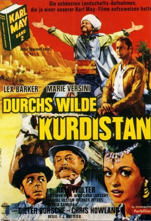 Durchs wilde Kurdistan - German Movie Poster (thumbnail)