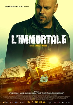 L'immortale - Italian Movie Poster (thumbnail)