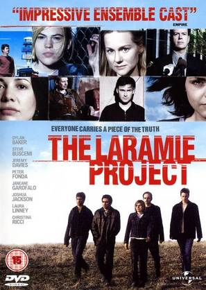 The Laramie Project - British DVD movie cover (thumbnail)