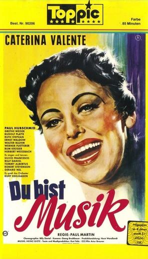 Du bist Musik - German VHS movie cover (thumbnail)
