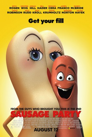 Sausage Party - Theatrical movie poster (thumbnail)