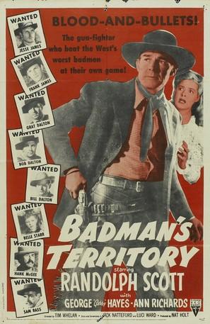 Badman's Territory - Movie Poster (thumbnail)