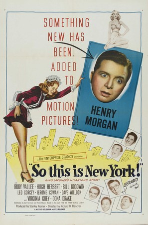 So This Is New York - Movie Poster (thumbnail)
