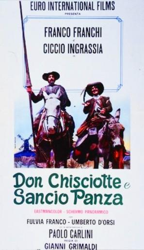 Don Chisciotte e Sancho Panza - Italian Movie Poster (thumbnail)