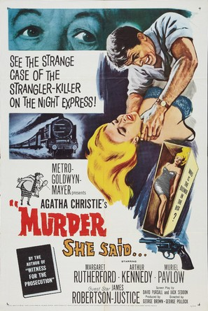 Murder She Said - Movie Poster (thumbnail)