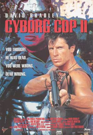 Cyborg Cop II - Movie Poster (thumbnail)