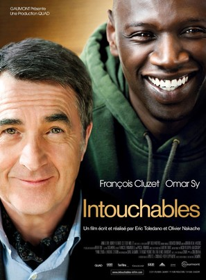 Intouchables - French Movie Poster (thumbnail)